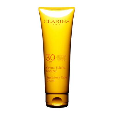 Crème Solaire Sécurité Haute Protection UVA/UVB 30