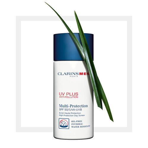 ClarinsMen UV Plus SPF 50 UVA/UVB