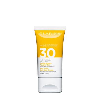 Crème Solaire Toucher Sec Visage UVA/UVB 30