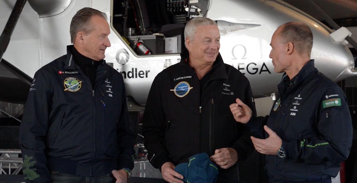 video Solar Impulse en Clarins #FutureIsClean: samen voor een schone toekomst.