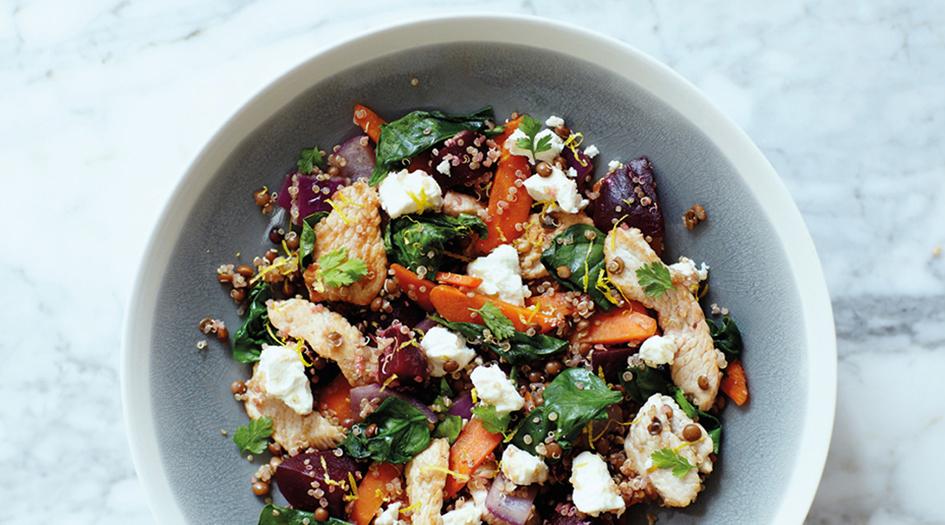 Cuisinez une salade minceur et healthy