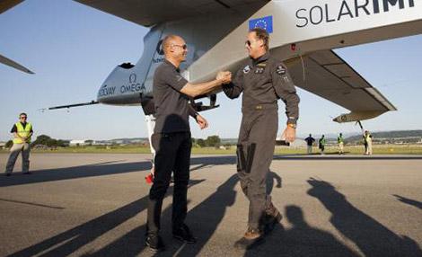 piloten Solar Impulse 2