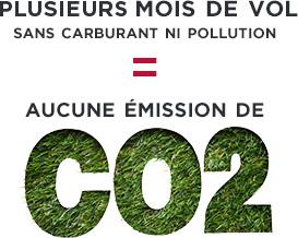 Solar Impulse aucune émission de CO2